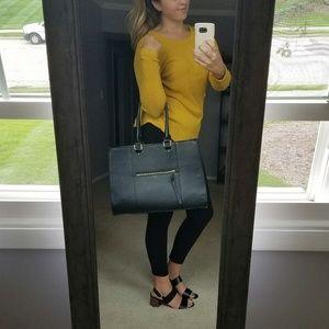 Handbags - 🛍 Black Tote Bag Women's Shoulder Strap